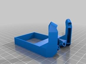 GEEETech MK8 Printhead Fan Shroud (compact) ver 2.0 w/ LED mounts