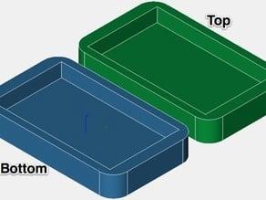 Inhale3D Clam Shell Enclosure Tutorial Parts