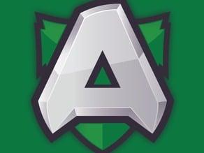 Alliance team Keychain