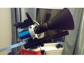 Light shroud for 8-50mm f1.5 3MP IR c mount lens