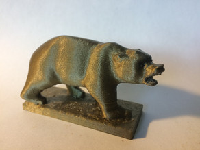 Grizzly Bear Statue - University of California Berkeley