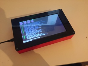 "Official 7"" Raspberry Pi Screen Case"