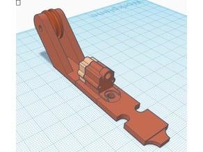Geeetech A10 filament guide + sensor