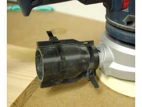 Gripping Vacuum Adapter for Bosch Orbital Sander (Customizable)
