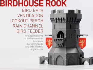 Birdhouse Rook, Castle Tower