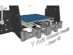 Anet A8 Y-Axis Rework Overkill