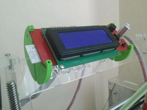 Customizable tilt LCD Mount
