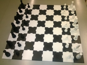 Chess set, all pieces