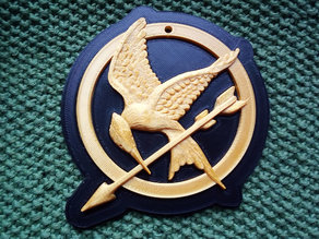 Frame for Mockingjay pendant