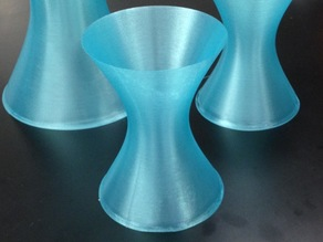Hyperboloid of one sheet - tall