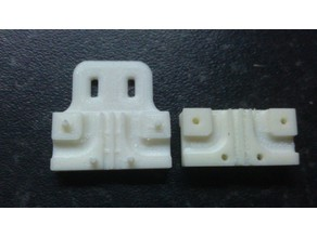 Strain Relief Bracket for MK2B Heater PCB 12V and 24V