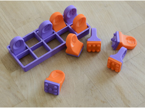 Domino Cookie Cutter 2