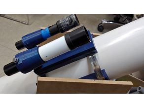telescope body and holder adapter