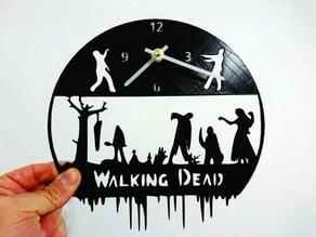 The Walking Dead Clock