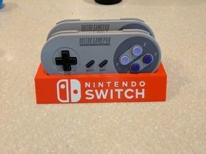 8Bitdo SFC30/SNES30 Controller Holder (Switch Logo)