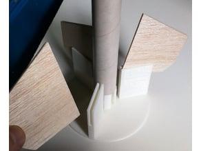 Customizable Rocket Fin Alignment Jig