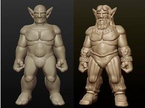 Sculptris Dummy: Firbolg (Masculine)