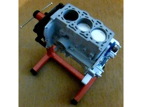 20mm profile engine stand (1:3 scale)