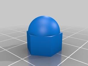 My Customized Parametric Nut Cap