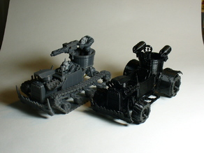 Ork Warbuggy and Wartrakk