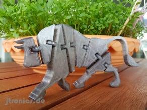 Flexi Articulated Bull Full