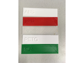 Material Test Strips
