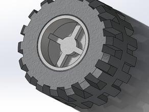 Lego Wheel & Tire Type 1