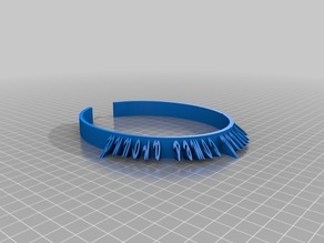 Hairband with text customizer