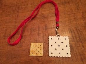 Saltine Cracker Challenge Medal