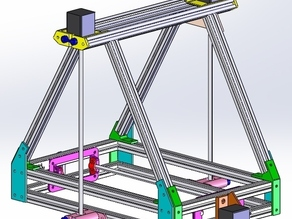 MendelMax in SolidWorks 2012