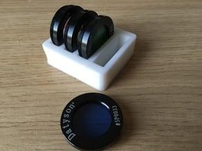 """1.25""""/31.7mm Telescope lens filter holder"""
