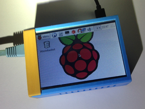 Raspberry Pi with 3.5 TFT LCD Touch Screen Case