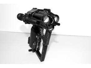 Nerf Triad EX3 Biker Scout Blaster