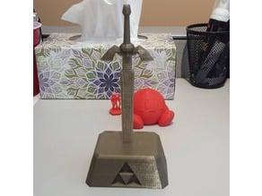 Master Sword in Pedestal of Time