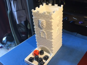 Dice Tower - Modular Castle