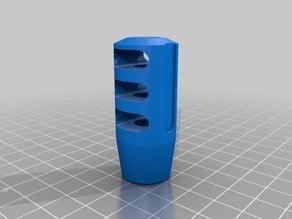 Airsoft 3 chamber Muzzle Brake