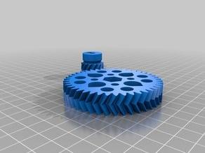 Herringbone gears for ROBO 3D