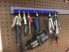 Five Piece Air Tool Rack