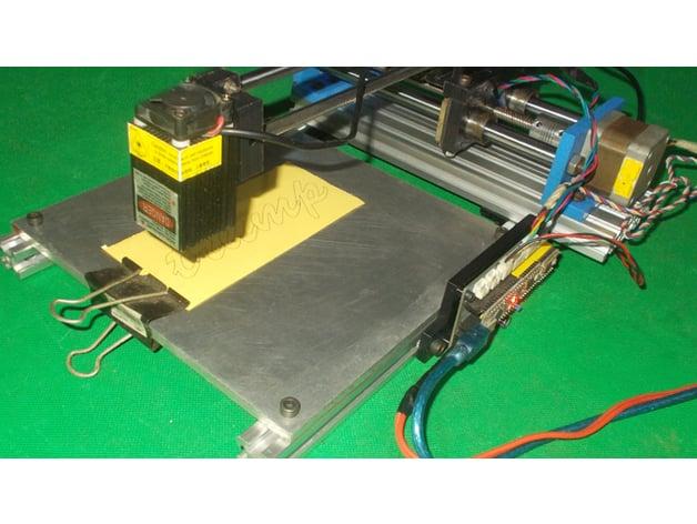 071-DIY AxiDraw 4xiDraw CNC Homemade 3D Printer Laser Robot Draw Robotic Plotter Laser Cutter Mill