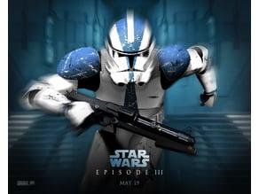 Star Wars Episode III Lithophane