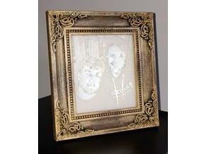 Picture frame for Mini Lithophane light Box