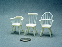1:24 3D Printed Windsor Chairs