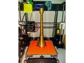 100% functional 3D printed dulzaina