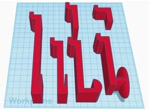 Kimball Xsite Cube Track Hanger