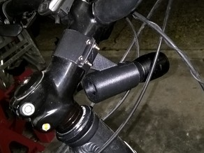 Bike Flashlight Holder
