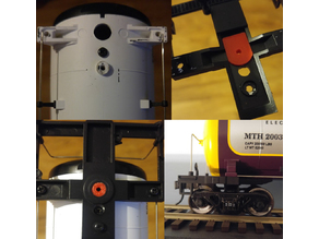 MTH Tank car 2 rail conversion adapter