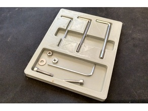 Hex Key / Allen Wrench Organizer