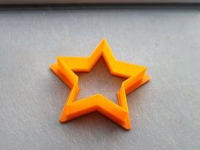 Cookie Cutter - 5 Point Star