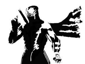 Ninja Gaiden Stencil