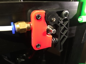 Monoprice Mini Delta Extruder Top (Threaded) to replace new OEM design